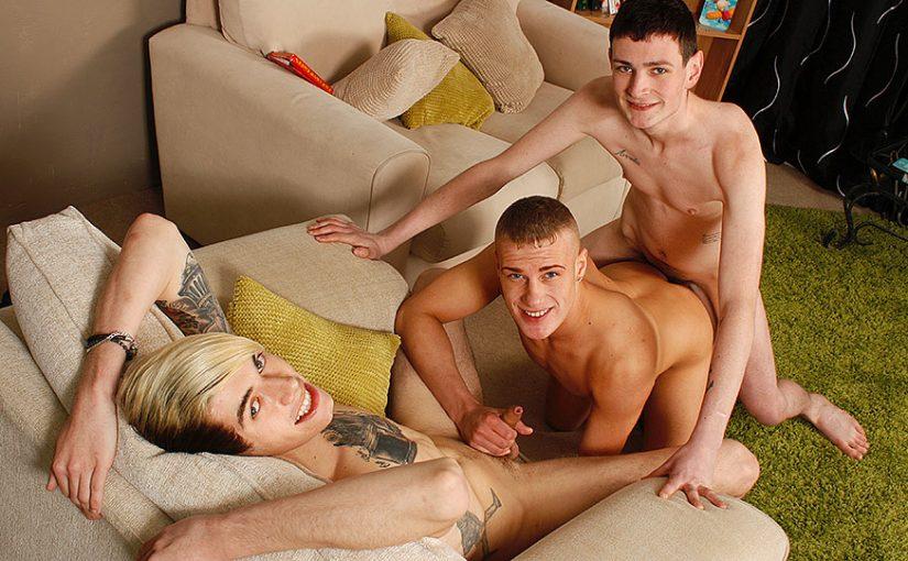 Rhys Casey, Scott Williams & Jason Goddard