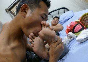 Foot Sex with Joshua and Andrew