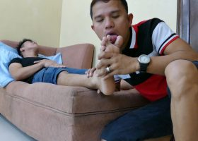 Alex and Rico Horny For Feet