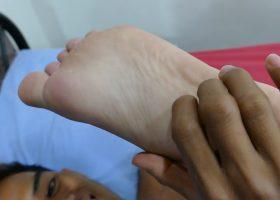 Rizal and Nishi Kinky Feet Fun