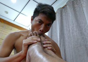 Freddy and Josh Love Feet