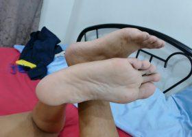 Marcon Solo Feet Wank