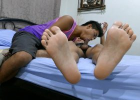 Serious Feet Sex with Josh and Joshua